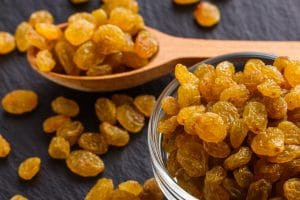 health benefits of gin soaked raisins or drunken raisins