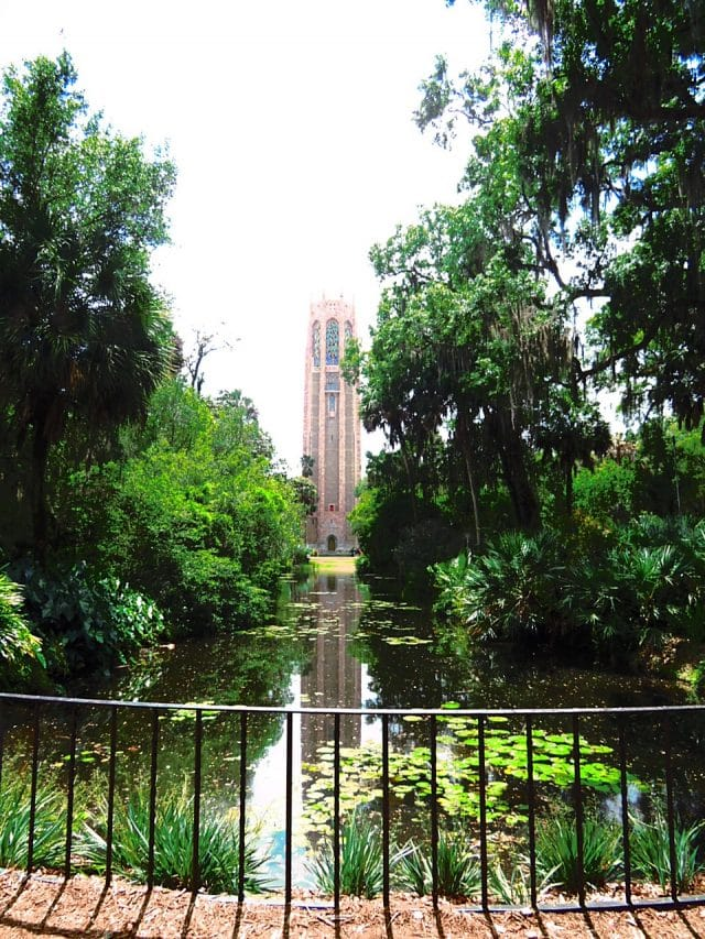 bok tower gardens reflective pond